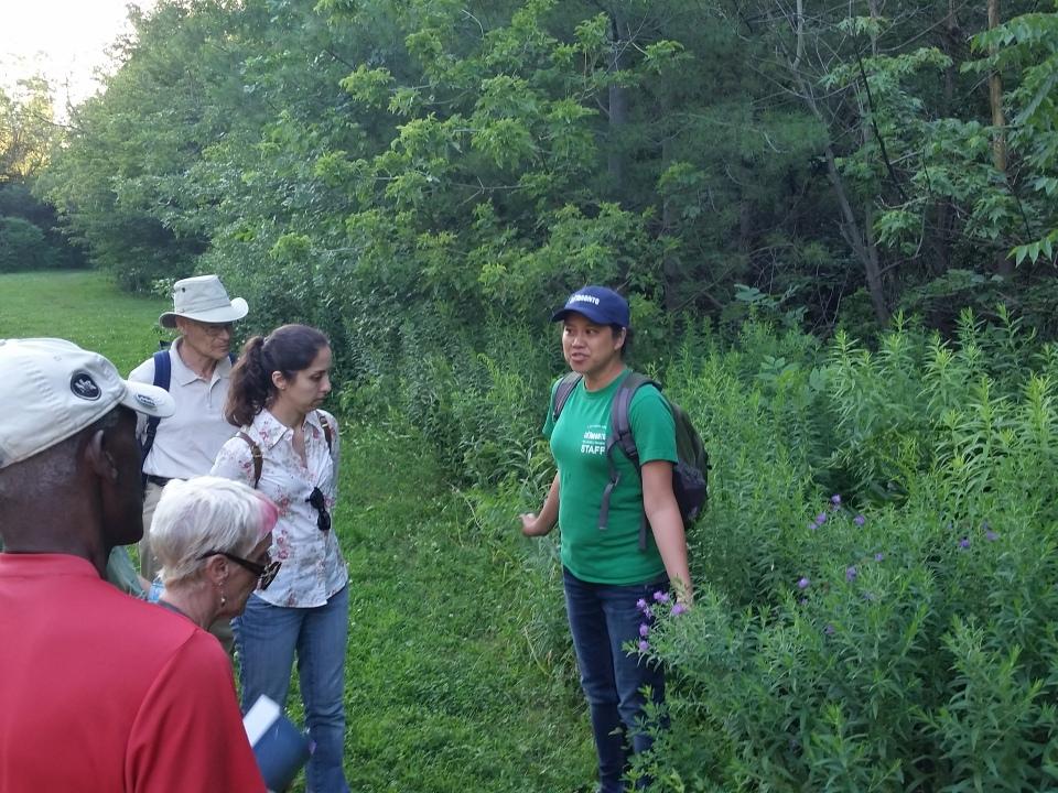 Cedarvale flower walk July 12