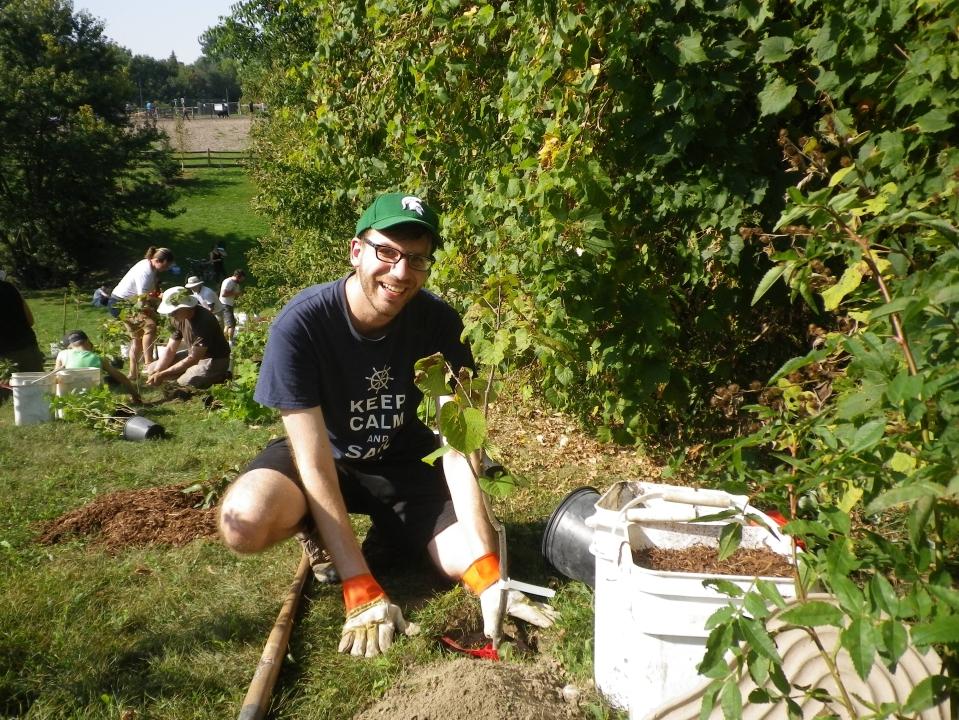 Cedarvale planting Sept. 17 021
