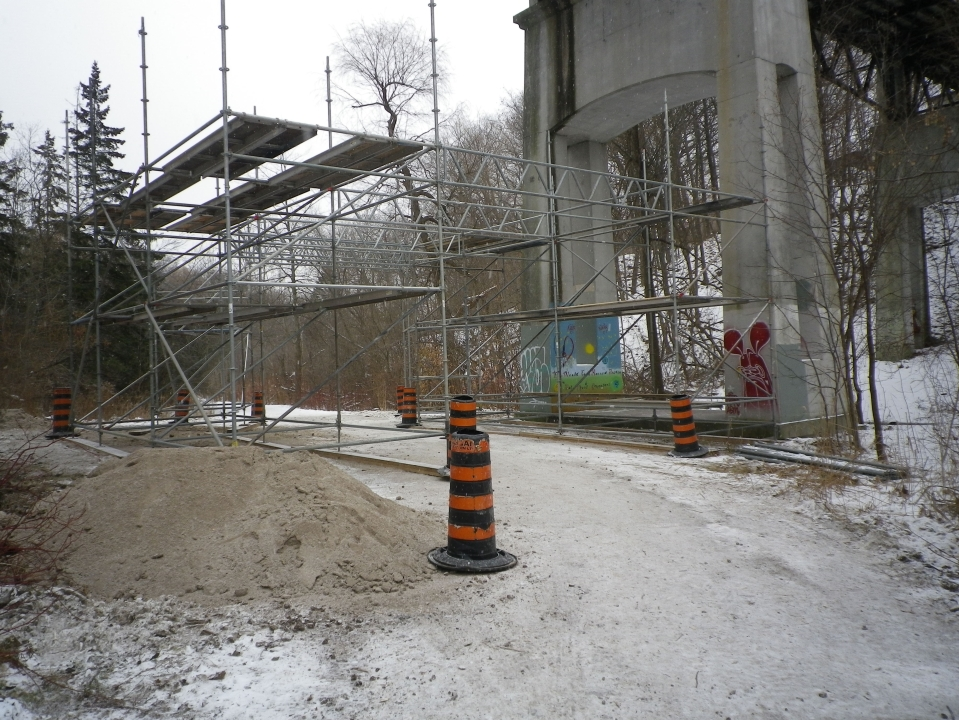 Cedarvale bridge renovation begins 022